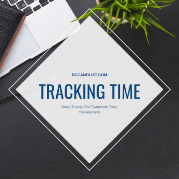 Automate Teamwork Time Tracking